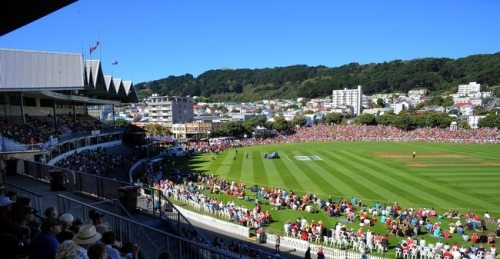 Basin Reserve Cricket Ground